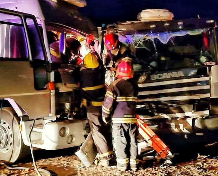 Ruta 33 – En menos de 24 horas, el segundo accidente de camiones