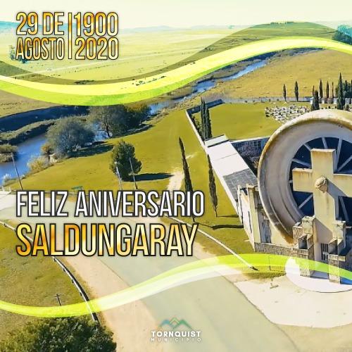 Saldungaray – Salutación municipal por el 120° Aniversario