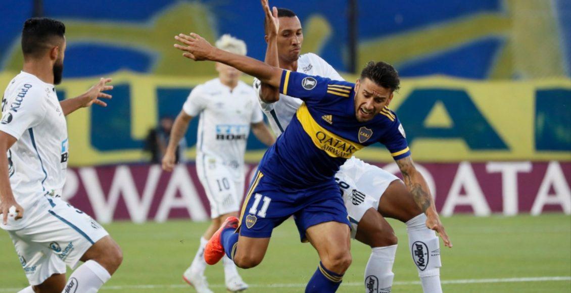 Boca visita a Santos en busca de un lugar en la final de la Libertadores