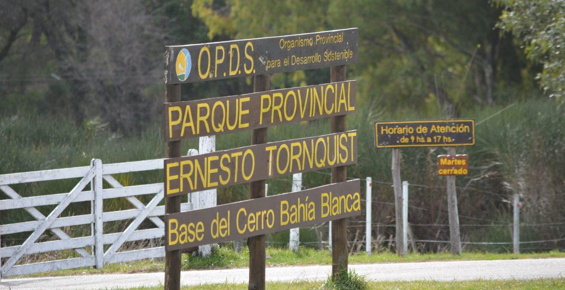 Parque Provincial – Hoy el sector de la Base del Cerro Bahía Blanca estará cerrado