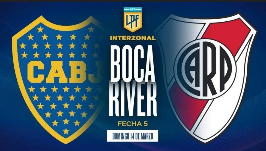 Boca – River: hora, formaciones y dónde ver el partido por TV