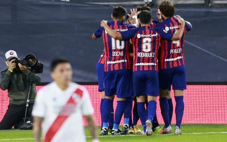 River perdió el clásico ante San Lorenzo en el Monumental