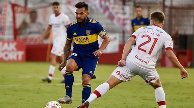 Boca venció a Huracán por 2 a 0 y quedó muy bien posicionado