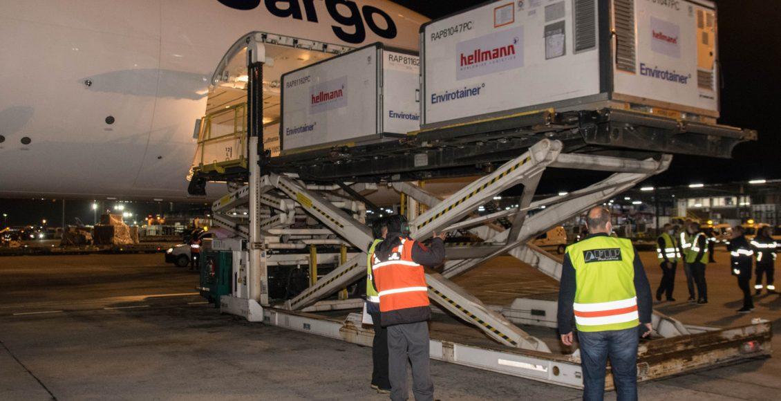 Coronavirus – Arribó desde China el vuelo de Lufthansa con 244.800 dosis de Sinopharm