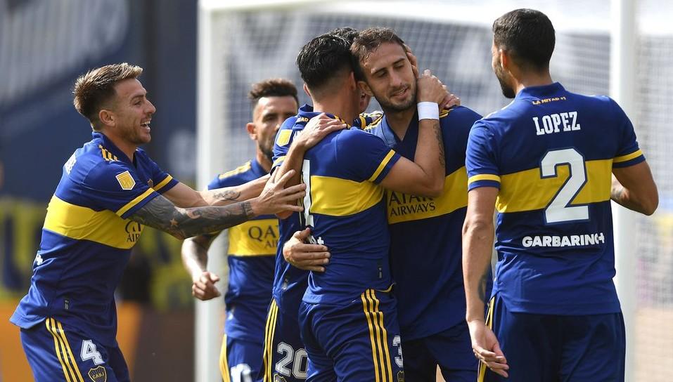 Boca derrotó a Lanús en La Bombonera y se clasificó a los cuartos de final de la Copa de la Liga