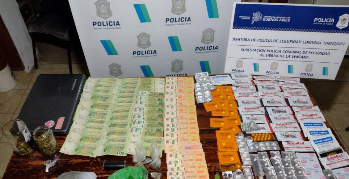 Barrio Ceferino – Parte de prensa policial, allanamiento en Villa Arcadia